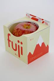 Fruit Box Packaging Design Fuji Apple Packaging On Behance Apple Packaging Food