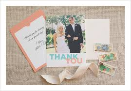 personalized wedding thank you cards lilbibby com Custom Photo Thank You Cards Wedding personalized wedding thank you cards to inspire you on how to create your own wedding card 10 Wedding Thank You Card Designs