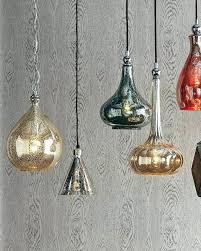 mercury glass pendant. Light: Blue Mercury Glass Pendant Lights Light Shades Amazon
