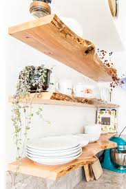 How To Make Floating Shelves From Scratch Extraordinary Floating Corner Shelves 32 Ways To DIY Floating Shelves Curbly