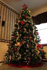 classy christmas tree most beautiful trees elegant christmas trees  decorated with ribbon