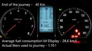 Toyota Premio 2008 Highway Fuel Consumption - YouTube