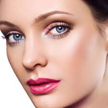 makeup for blue eyes brown hair