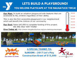 Fundraising Flyer Playground Fundraising Flyer NAUGATUCK YMCA 16