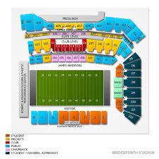 Bridgeforth Stadium 2019 Seating Chart
