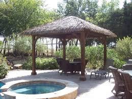 tiki hutcontemporary patio dallas