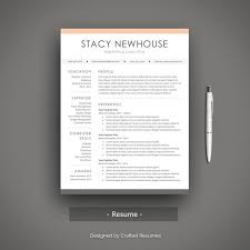 Modern Resume Etsy Creative Word Resume Template Professional And Modern Resume Design With Cover Letter Cv Template Mac And Pc Instant Download