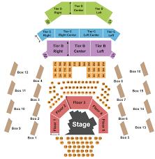 The Anthem Seating Chart The Anthem Seating Chart Washington Dc