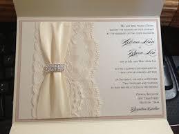 178 best creative invites images on pinterest cards, invitations Wedding Invitation Maker In San Pedro Laguna blush and ivory lace pocketfold wedding invitation