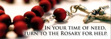 Image result for october - month of the rosary prayer
