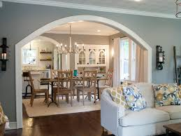 Paint Wall Colors For Living Rooms Open Up The Wall Between Main Room And Kitchen With An Arch