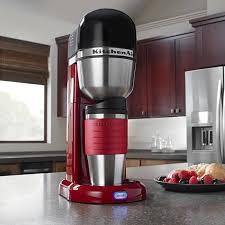 kitchenaid personal coffee machine empire red additional additional
