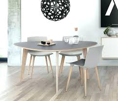 modern round extendable dining table kitchen modern