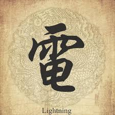 Chinese Symbol Of Light Lighting In Chinese Character Metallic Tattos Chinese