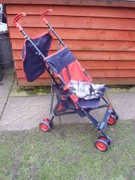 argos buggy with raincover