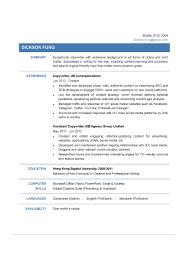Copywriter Resume Copywriter CV CTgoodjobs Powered By Career Times 84
