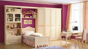 Painting Girls Bedroom Contemporary Girls Bedroom Decoration With Pink Painting Wall