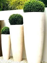 large round resin planters garden pots to enlarge planter vases outdoor and pla