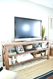 crate tv stand by wooden milk