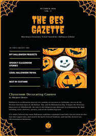 Word Halloween Templates Halloween Newsletter Templates Free Word Best Chaseevents Co