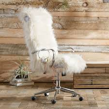 awesome office chair. Himalayan Ivory Faux Fur Ultimate Desk Chair Awesome Office I