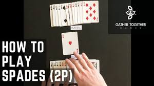 Ten great ways to play a game of cards with just two people. How To Play Spades 2 Player Youtube
