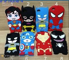 3d superman super iron man batman spiderman hero ironman venom cute soft silicone back case cover skin for iphone 4 4s 4g iphone 5 5g batman superman iron man