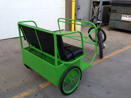 Pedicab Sidecar Design We Are Selling Our Trailer Pedicab Fleet Great And Cheap