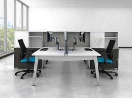 Office workstation desk Executive Of 6free Shipping Oxygen Modern Collaborative Open Office Workstationdesk tablecubiclebenching Oxygen Modern Collaborative Open Office Workstationdesktable