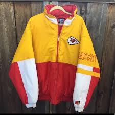 Starter amp; S1 Poshmark Jacket Coats Kansas Chiefs Jackets Vintage City