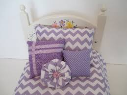 girls chevron bedding purple