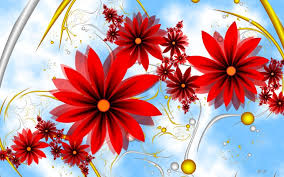 beautiful red flowers hd wallpaper for desktop and mobile in high picture free