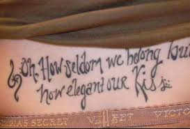 Short Love Quotes For Tattoos 100 Best Tattoo Quotes 72