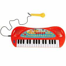 Щенячий Патруль. <b>Игрушечный синтезатор</b> с микрофоном. ТМ ...