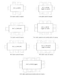 dining table dimensions for 8 room unique seat round size pax