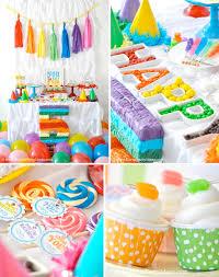 Korean Themed Party Decorations Karas Party Ideas Rainbow Themed Birthday Party Karas Party