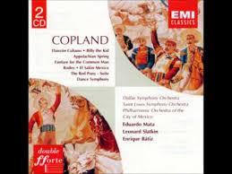 copland orchestral works copland orchestral works full concert youtube