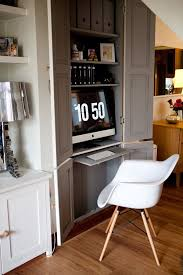 hidden home office. Unbelievable Hidden Desks Home Office Furniture In Cabinets Ikea Uk With Compartments Computer For