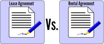 Lease And Rental Agreement Difference