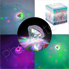 Autistic Light Toys Bath Gem Sensory Bath Light Float