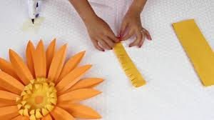 Daisy Paper Flower Diy Paper Flowers Daisy Template 7