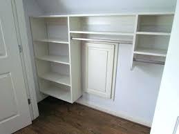 wall mount closet organizer ed wall mounted closet storage