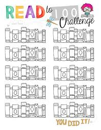 100 Book Challenge Chart Summer Reading Archives The Crafty Classroom