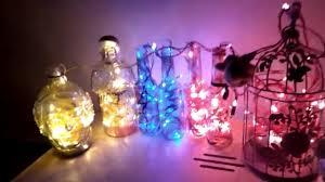 Bottle Light Ideas Diy Bottle Lights Ideas Upcycle Reuse Waste Reuse Cage Youtube