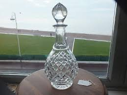 cut glass lead crystal decanter ref s