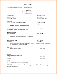 College Graduate Resume Samples Resume Examples for College Graduates with No Experience Sample 49