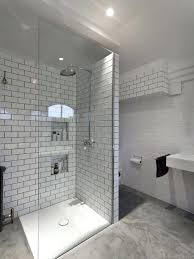grout for bathroom shower trendy white tile and subway tile concrete floor walk in shower photo grout for bathroom shower black subway tile