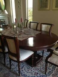 oval kitchen table and chairs. Oval Dining Table Set For 6 Kitchen And Chairs