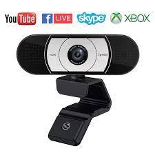 Facebook und YouTube Streamer Webcam mit Abdeckung HD 1080P Autofokus Web  Kamera Pro USB Webcam Streaming Xbox Skype Kamera PC HD Computer Kamera  1080P Web Cam für Xbox Gamer