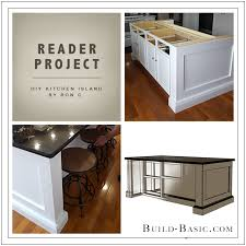 Build Basic DIY Kitchen Island By Ron C   Reader Project